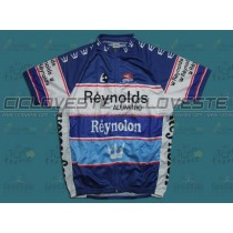 Maglia manica corta Reynolds Reynolon throwback Blu Team