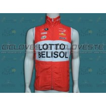 Gilet antivento squadra Lotto – Belisol 2014
