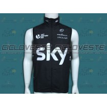 Gilet antivento professionale Sky 2014