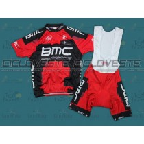 Maglia manica corta e Salopette BMC Racing Team 2012