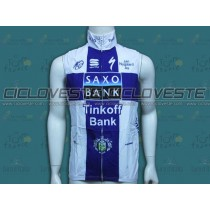 Gilet antivento Saxo Bank Finlande Champion Team 2013