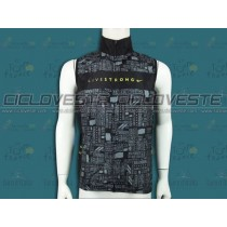 Gilet antivento Livestrong Nero Team 2012