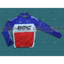 Maglia termiche manica lunga BMC France Champion Thermal Long Team 2013