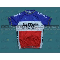 Maglia manica corta BMC France Champion Team 2013