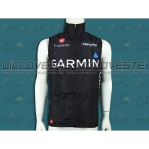 Gilet antivento Garmin Cervelo Nero Edition Team 2012