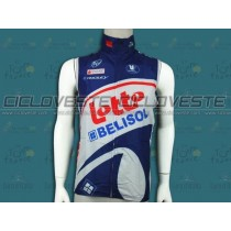Gilet antivento Lotto Belisol Team 2012
