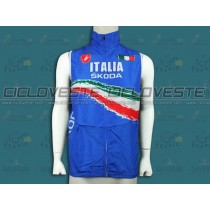 Gilet antivento Skoda Italy Champion Blu Team 2012