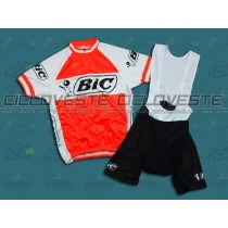 Maglia manica corta e Salopette BIC Throwback Team
