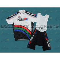 Maglia manica corta e Salopette PDM Throwback Team