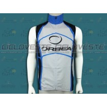 Gilet antivento Orbea Bianco E Blu Team 2012